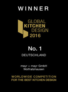 Auszeichnung Global Kitchen Design 2016.
